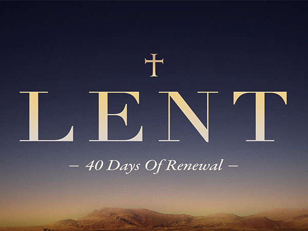 The Lenten Season Begins